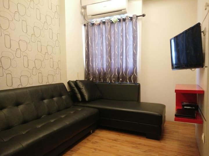 Apartemen Suites Metro 2 bedroom