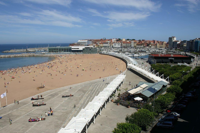 Playa de Poniente Gijón/Xixón