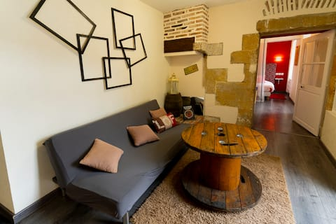 Appartement spacieux au cœur du village