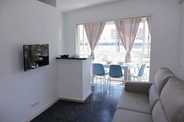 Apartment with beautiful views in Benalmádena