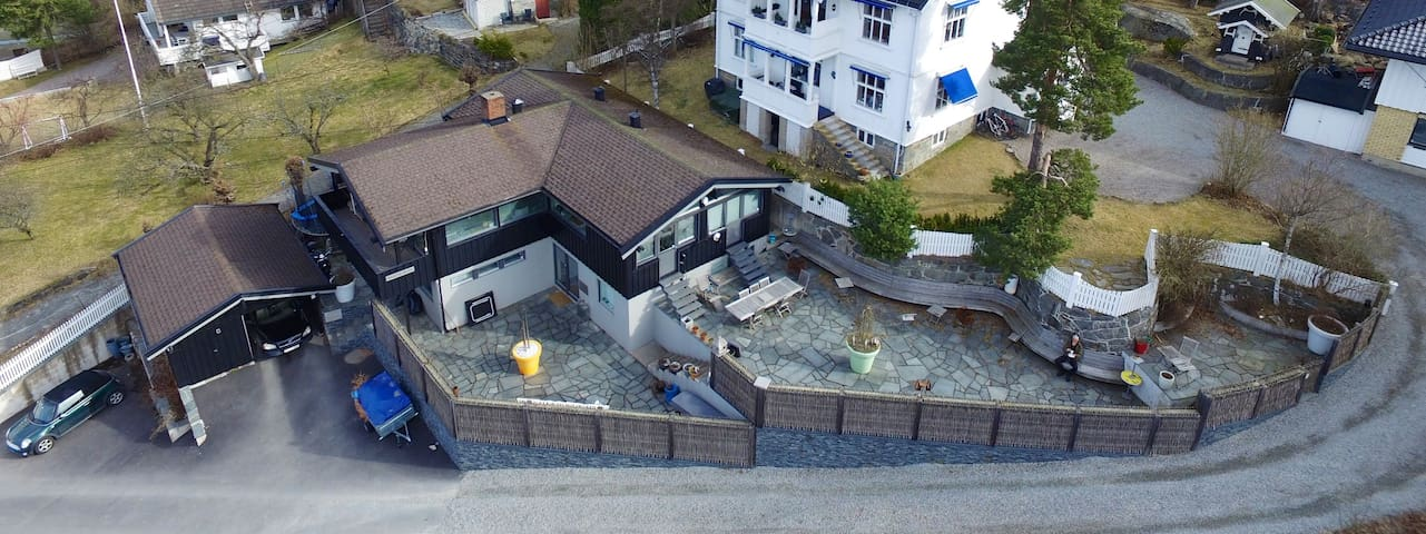 Charming, modern house, 10 min from Oslo center