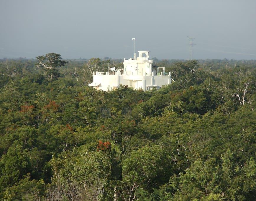 Casa El Arka. Departamento Panoramia