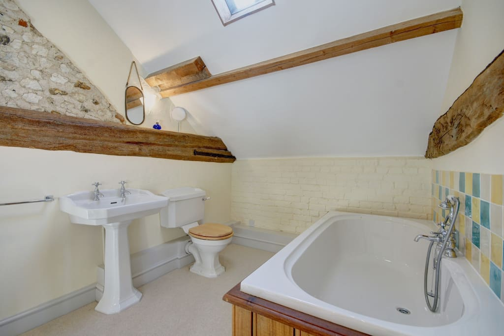 Family Bathroom with bath & separate shower
