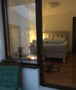 Hortensia huset, skön och enkel övernattning.