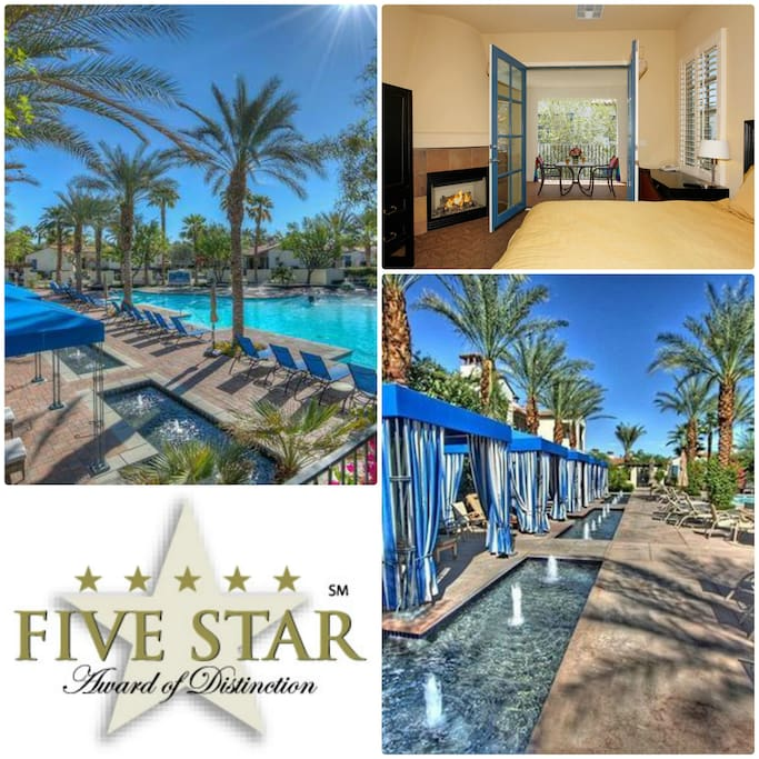 Majestic Main Pool with Beach Entry, Cabanas, Free WIFI, Cafe, Clubhouse, jacuzzi, kids playing area and more!