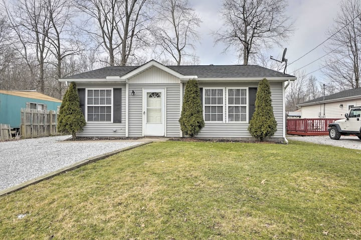 NEW! Home with Private Yard - Walk to Lake Erie!