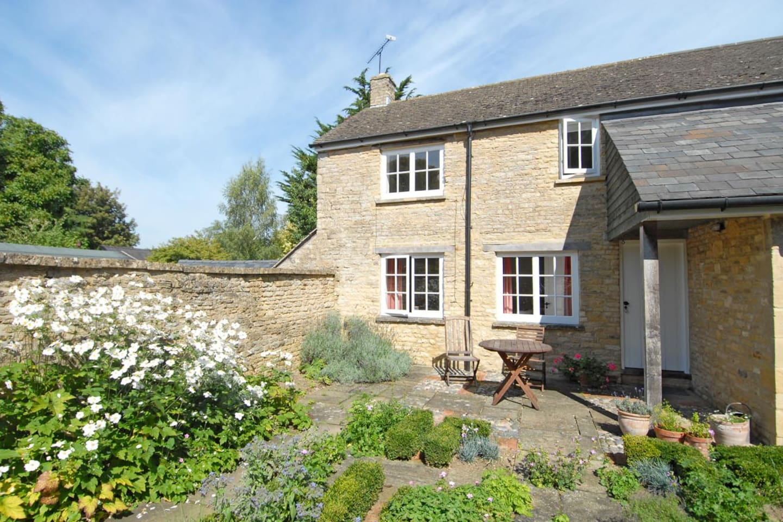 Dairy Cottage - its courtyard garden is an evening suntrap