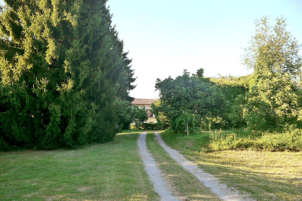 the Farm House entrance