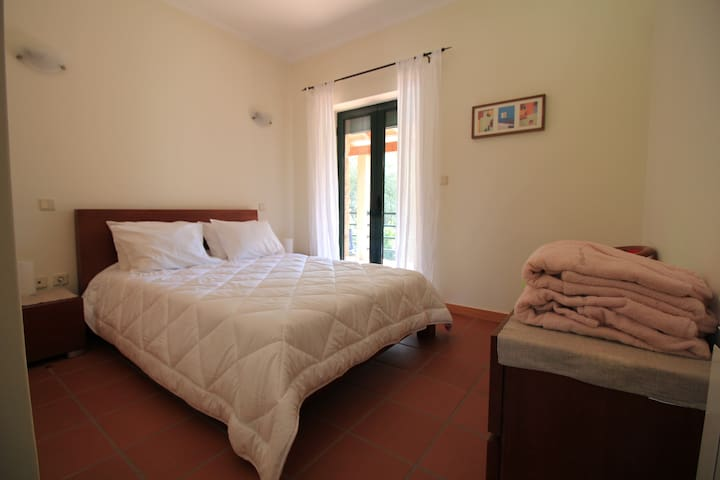 Bedroom 3 with private bathroom and direct access to the balcony area!