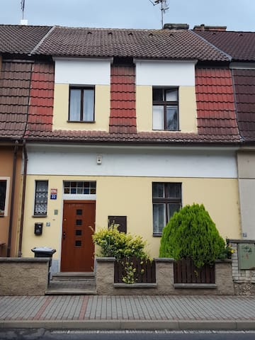 House with a story in Litomerice