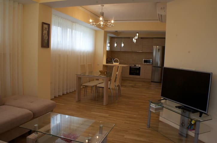 Квартира в классическом стиле на побережье - Saulkrasti - Apartamento