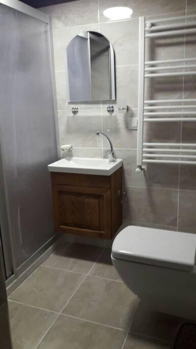 wc dusakabin  lavabo her odanın içinde özel