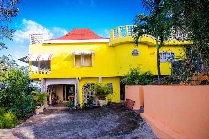 Ackee Tree Sea View Villa (Yellow Room)