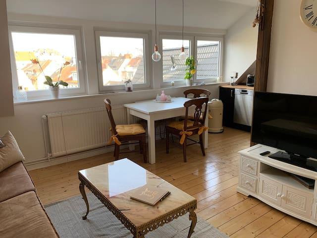 Gemütliche, zentrale 2-Zimmer-Wohnung