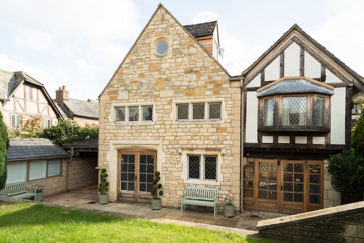 Luxurious and Characterful Cotswold Town-House - Winchcombe - Hus
