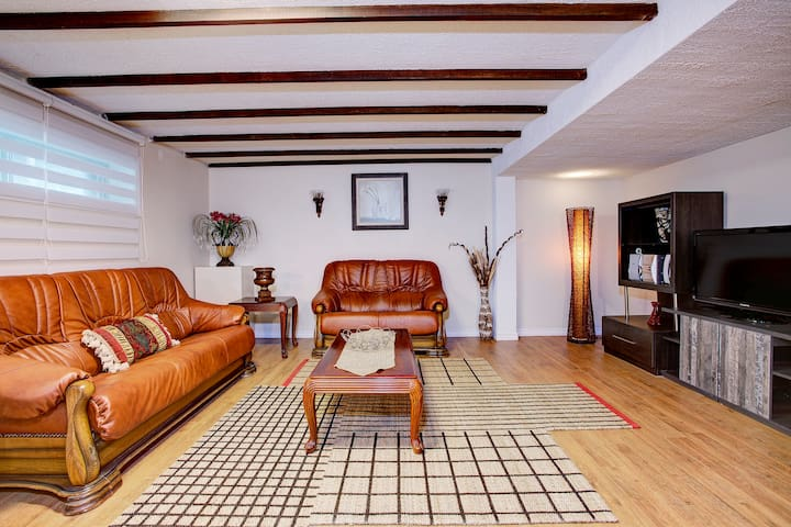 Beautiful large basement apartment
