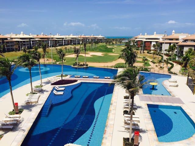 Golfville Resort Porto das Dunas prox. Beach Park - Aquiraz