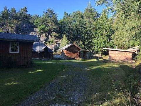 Hommen gård, Villmarkscamp (Hele campen)