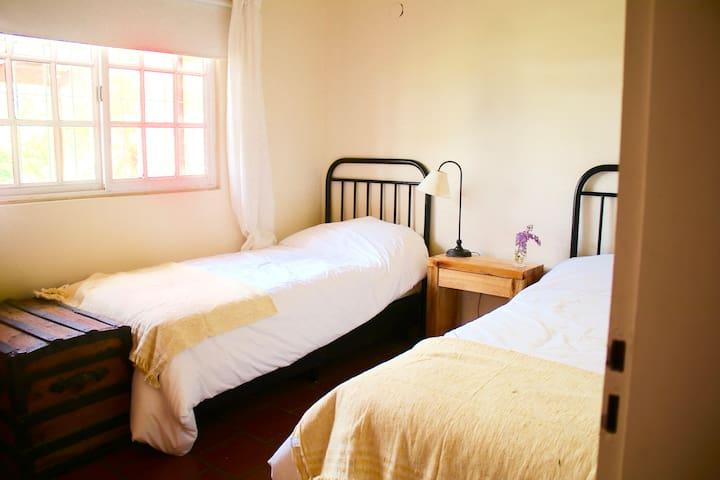 Dormitorio para dos personas