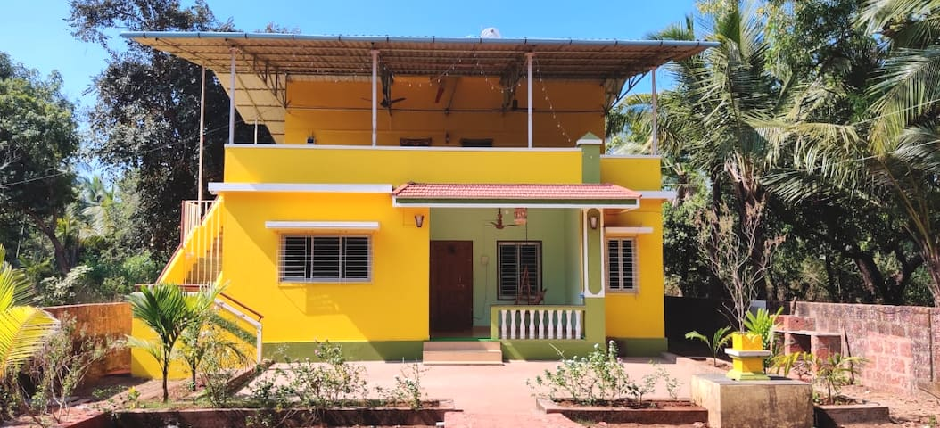 Bungalow on hire with complete privacy1min beach