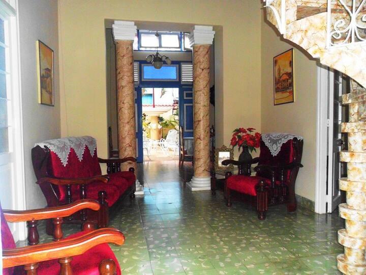 Hostal Doña María, Remedios, Cuba. Hab. 1