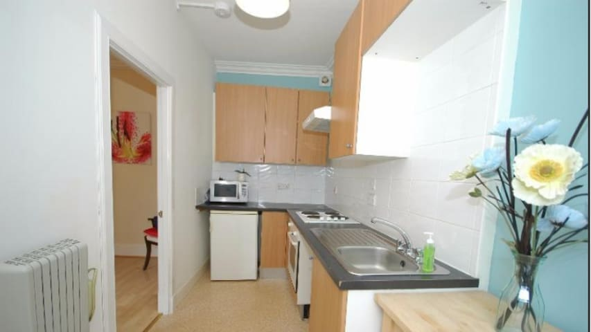 Modern Central Ayr Holiday Apartment