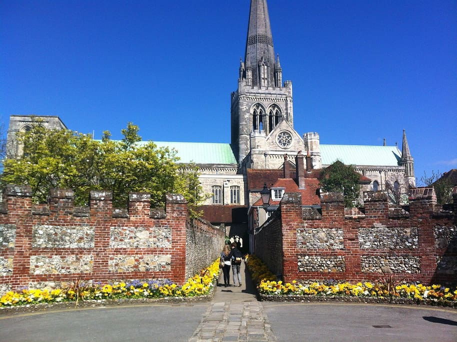 Beautiful, historic city of Chichester is only 4 miles away.