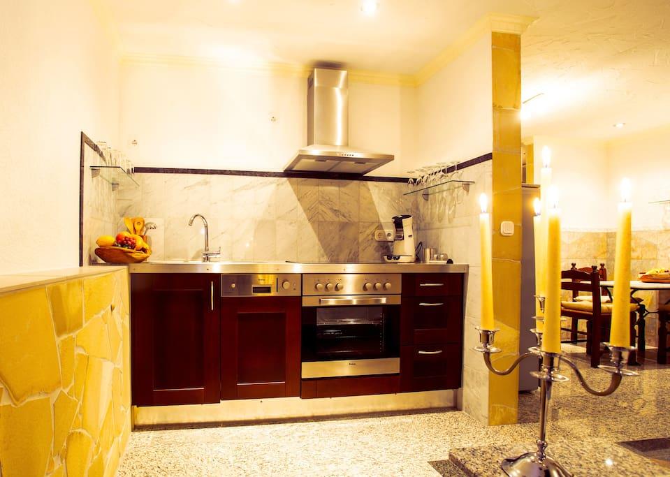 Apartment FARO (38 m²) – für 2 Personen Küchenzeile