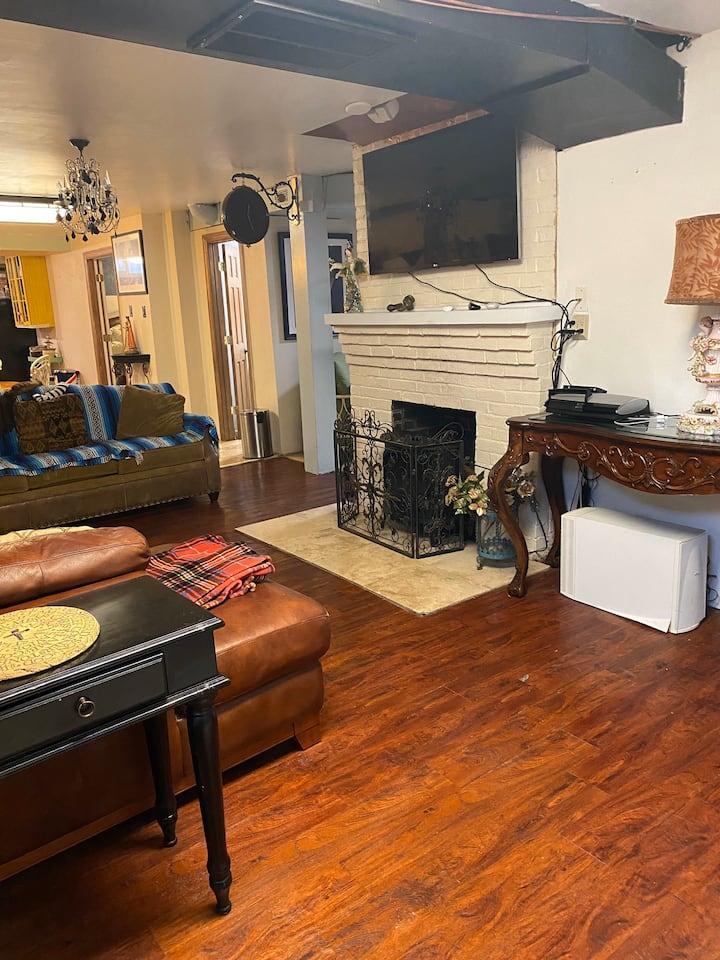Big cozy basement