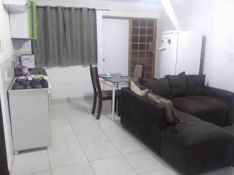 02 FLAT MOBILIADA ESPAÇO INTEIRO CEILÂNDIA - Wi-fi