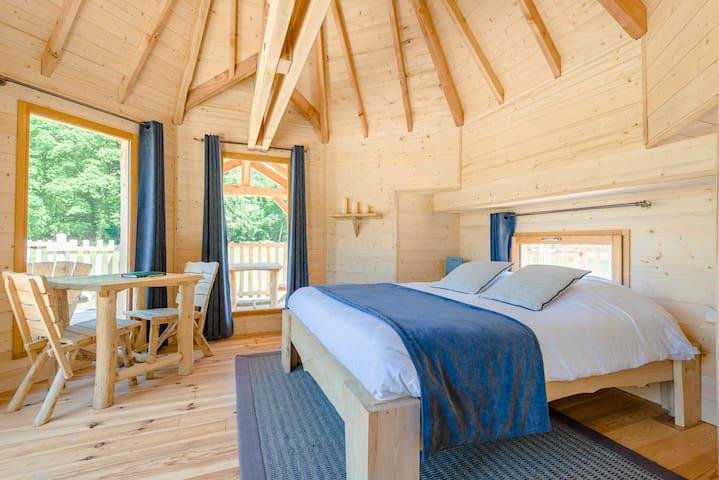 Cabane Escale pour 2 personnes - Joncherey - Stuga