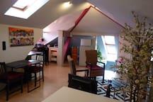 Design-Apartement Rosengarten