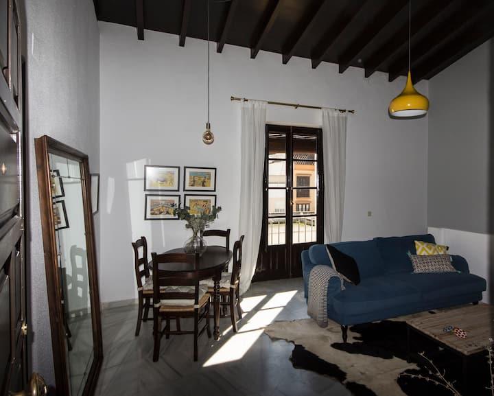 Apartamento Historico con Garage y WIFI