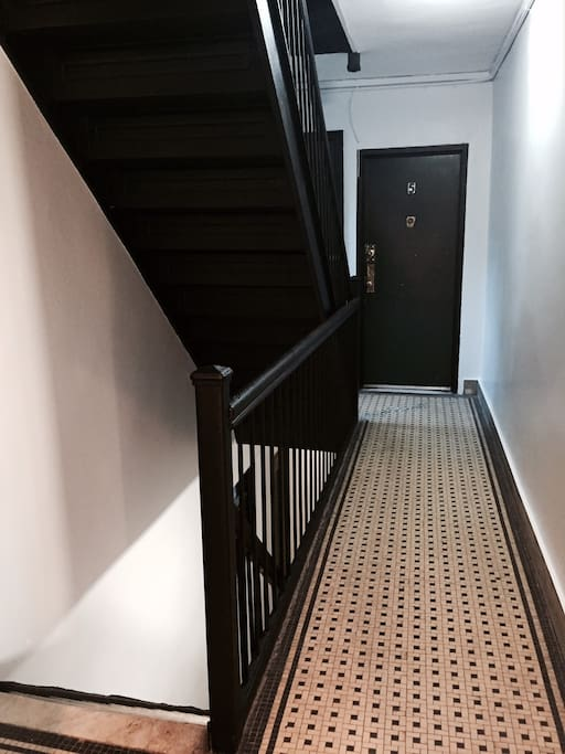 Apartment door entrance