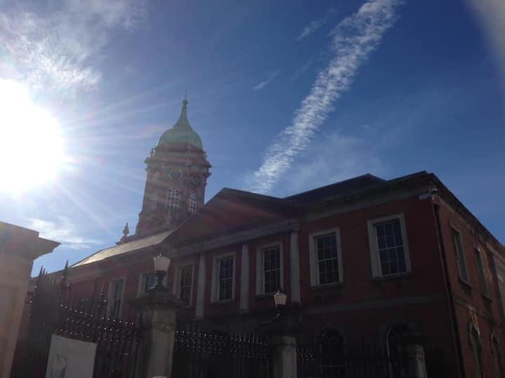Sunny Dublin Castle