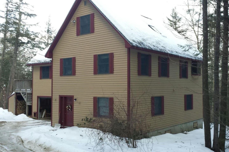 Sunday River ski house