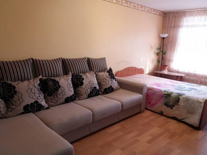 Apartment on Gafiatullina, 45