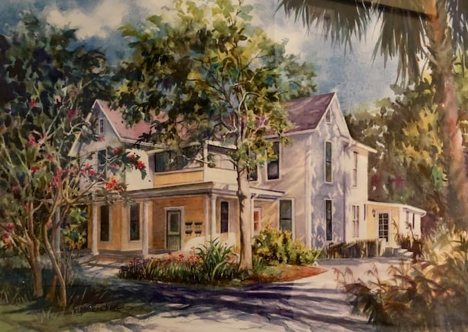 Painting of exterior
