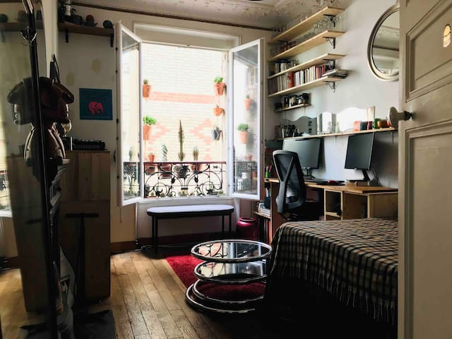 COSY ROOM PARIS - Great Location(75012)-SMALL Flat