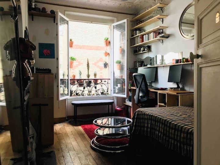 COSY ROOM PARIS - Great Location(75012)-SMALL Flat