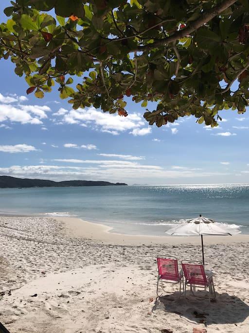 Praia de Bombinhas.