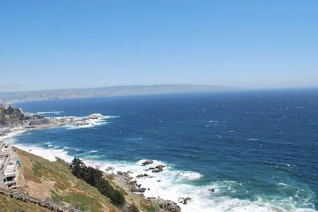 Vista insuperable Reñaca Valparaíso - Apartamento