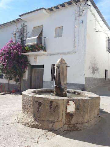 La casa del carpintero - La Alpujarra Cástaras - Huis
