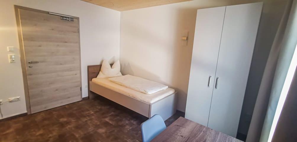 Modernes Apartment Einzelzimmer mit Küche