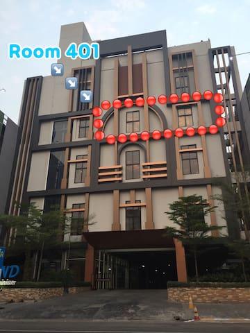คอนโดสุดหรู กลางเมือง เดินทางสะดวก - Muang - Apartment