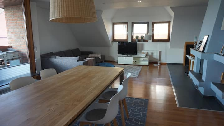 New apartement with private elevator sleeps 7