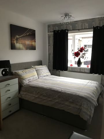 Cosy double room in rural village