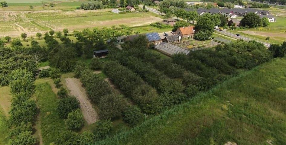 Nijmegen Lent Huis met historische boomgaard