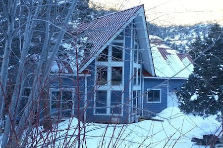 New A-framed ski cabin 15 minutes to Telluride - Placerville