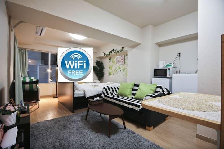 離新宿御苑5分鐘的溫馨小公寓 - Shinjuku-ku - 公寓
